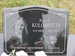 Nina V Kolomiyets