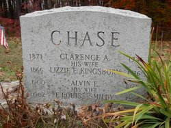 Lizzie Ellen <I>Kingsbury</I> Chase