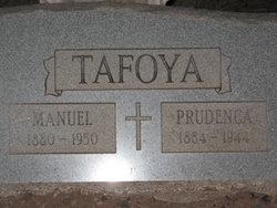 Prudencia <I>Chavez</I> Tafoya