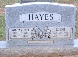 William Taft Hayes