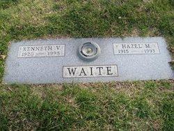 Hazel Marie <I>McAnelly</I> Waite