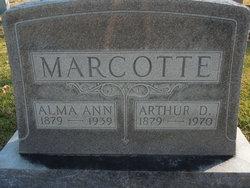 Alma Ann <I>Young</I> Marcotte