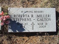 Roberta R. <I>Miller</I> Stephens-Galton