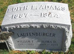 Edith L <I>Hoag</I> Adams