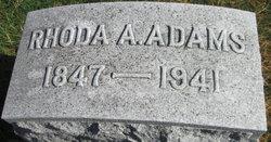 Rhoda A <I>Biggs</I> Adams