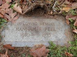 Hannah E. <I>Bartlett</I> Peel
