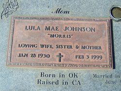 Lula Mae <I>Morris</I> Johnson