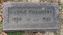 Nadine Chambers