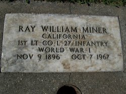 Ray William Miner