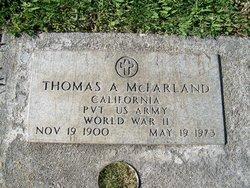 Thomas A McFarland