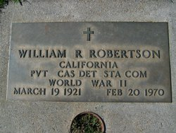 William R Robertson