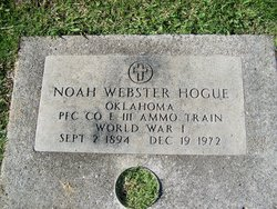 Noah Webster Hogue