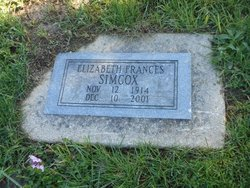Elizabeth Frances Simcox