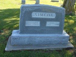 Josephine Gregory <I>Whitley</I> Simcox