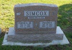 Pauline <I>Nelms</I> Simcox