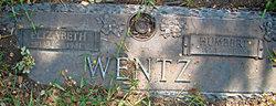 "O. Elizabeth ""Lizzie"" <I>McBride</I> Wentz"