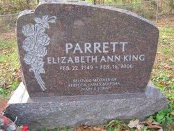 Elizabeth Ann <I>King</I> Parrett