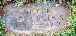 Anna B. <I>Alter</I> Lewis