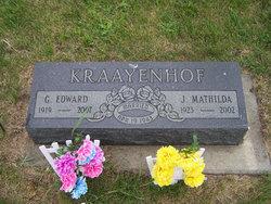 G Edward Kraayenhof