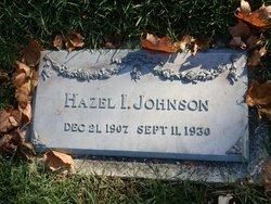 Hazel I Johnson