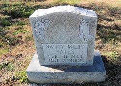 Nancy Carol <I>Milby</I> Yates
