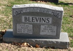 Kathy <I>Hillard</I> Blevins