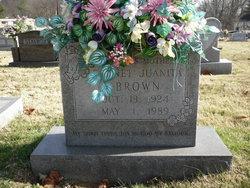 Garnet Juanita Brown