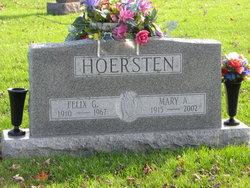 Mary A. <I>Berelsman</I> Hoersten