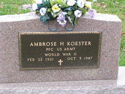 Ambrose Henry Koester