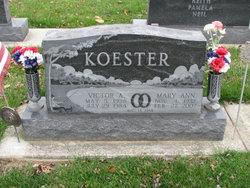 Mary Ann <I>Kramer</I> Koester