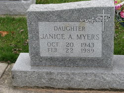 Janice A. <I>Otte</I> Myers