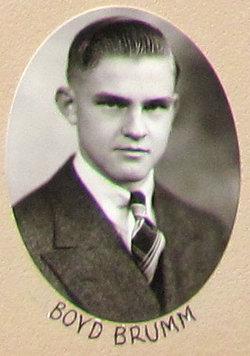 Boyd Wendell Brumm
