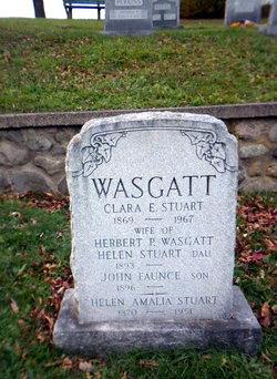 Clara Evelyn <I>Stuart</I> Wasgatt