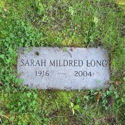 Sarah Mildred Long