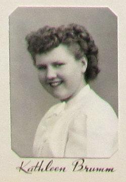 Kathleen Lucille <I>Brumm</I> Erickson