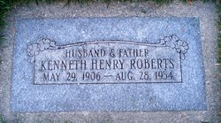 Kenneth Henry Roberts