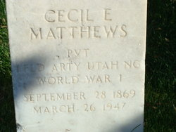 Cecil Edmonds Matthews
