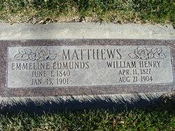 Emmeline <I>Edmonds</I> Matthews