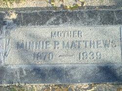 Minnie <I>Palmer</I> Matthews