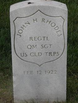 John H Rhodes