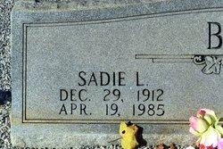Sadie L Brown