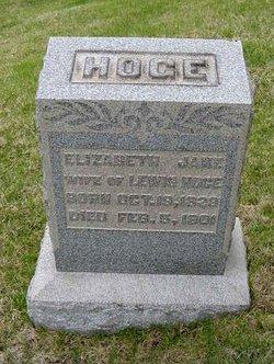 Elizabeth Jane <I>Parcel</I> Hoge