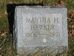 Martha H <I>Calkins</I> Hawker