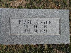 Pearl <I>Morton</I> Kinyon