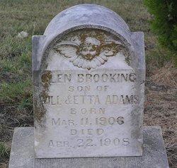 Glen Brooking Adams
