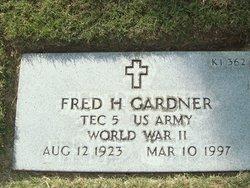 Fred H Gardner