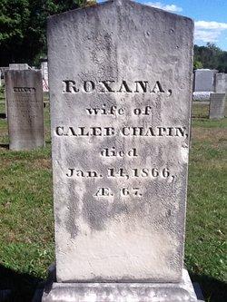 Roxana <I>Allen</I> Chapin
