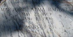 Marjorie Alma Baggett
