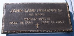 John Lane Freeman, Sr