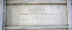 Nina Edith <I>Hurd</I> De Coux